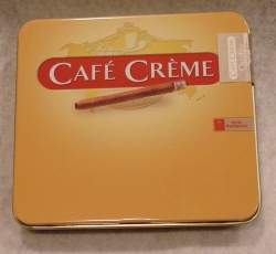 Cigarillos Cafe Creme Yellow