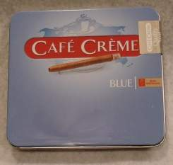 Cigarillos Cafe Creme Blue