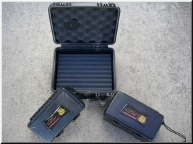 Humidors XI Travel Case -  5 Cigar
